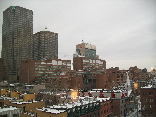 great view picture of hotel dauphin montreal downtown. Black Bedroom Furniture Sets. Home Design Ideas