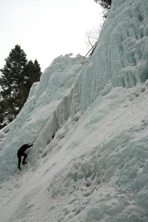 Ouray Ice Park: Just another day on paradise.