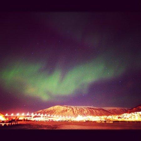 The AuroraChaser Kjetil Skogli: aurora over Tromsø