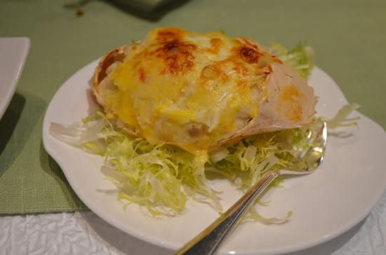 ... Mody Road): Coconut cream baked crab (coconut was a bit overpowering