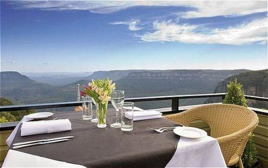 Echoes Restaurant - Blue Mountains : View from Table