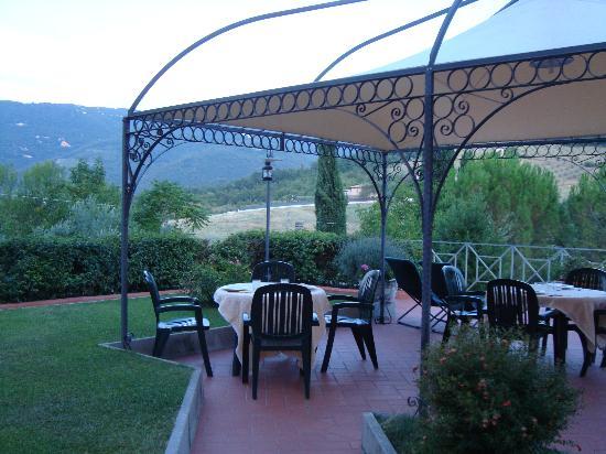 Albergo Villa Cristina : La terrazza  della colazione