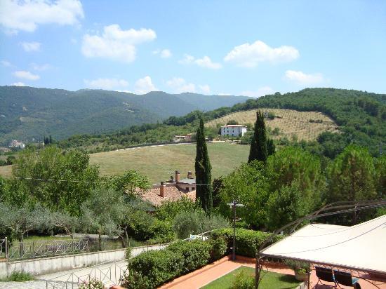 Albergo Villa Cristina : Vista dalla camera