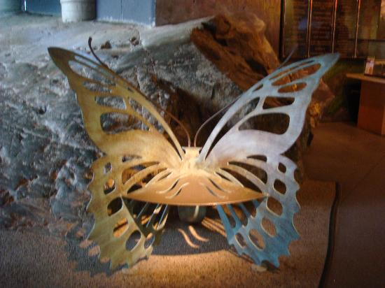 Sudbury, Kanada: The butterfly chair