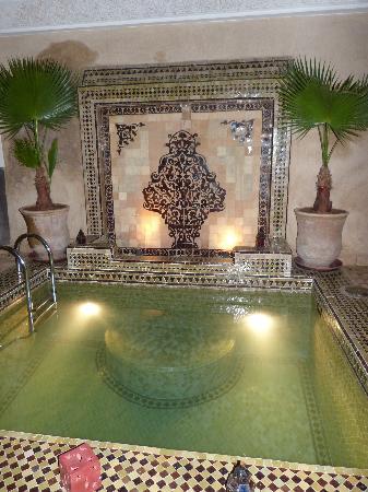 Riad Chacha Lalla: La piscine chauffée !