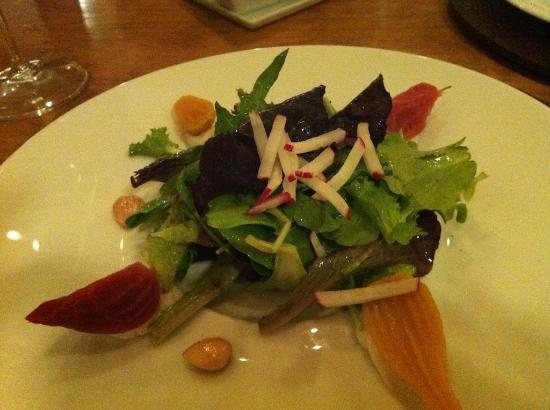 Mii amo, a destination spa: beet salad