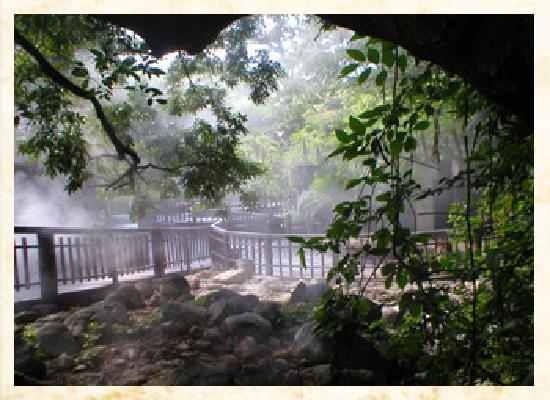 Hotel Borinquen Mountain Resort : hot springs