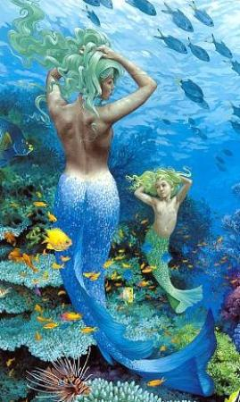 Hi-Tide Ocean Beach Resort: Beautiful, friendly Mermaids, for underwater tours...(hahaha!)