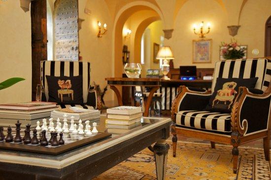 Villa di Piazzano: Lobby