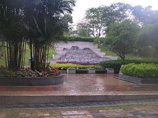โรงแรมเทรดเดอร์ กัวลาลัมเปอร์: Park near Traders