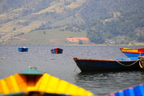 The North Face Inn: Fewa Lake in Pokhara