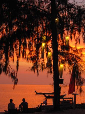 Beachlounge - Thong Sala: Wonderful Sunset at Beachlounge
