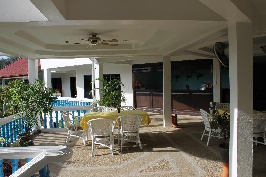 Pen Villa Hotel: Frokostplassen