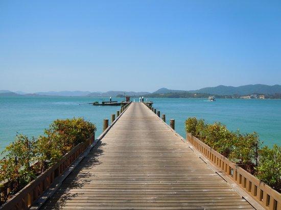The Naka Island, A Luxury Collection Resort & Spa Phuket : The dock.