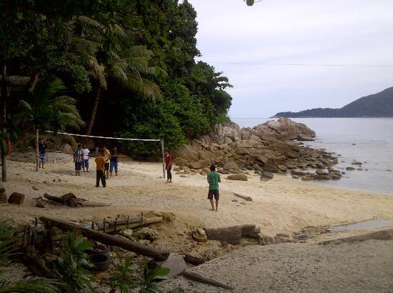 D'Lagoon: beach volleyball + flying fox