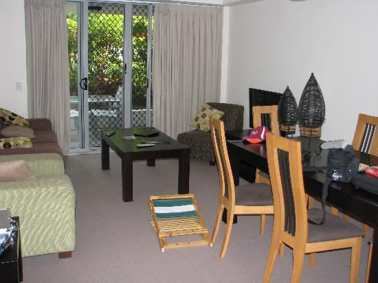 Coolum at the Beach: Living area