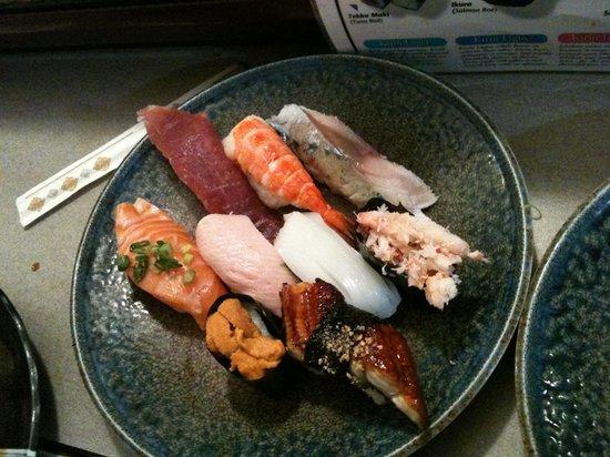 Sushi on the Run: sushi