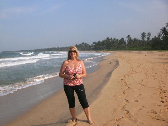 Villa Lanka Pearl : Strandspaziergang