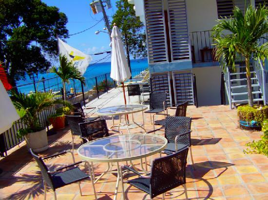 Frederiksted Hotel: Balcony