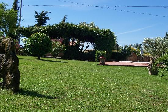 Agriturismo Il Grillo Parlante: il giardino...