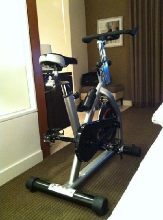 Hotel Arista: Optional free amenities: In Room Exercise Bike