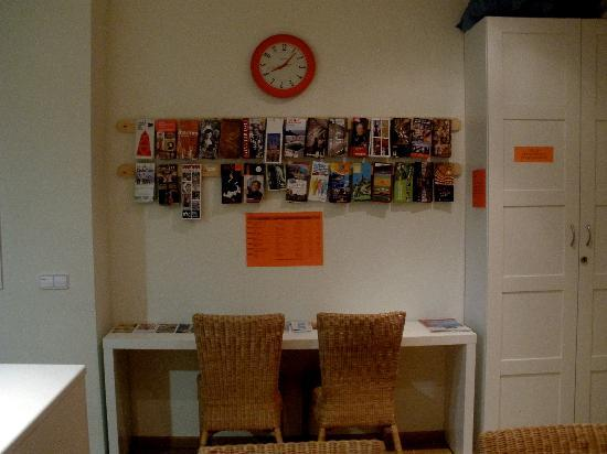 Itaca Hostel: Information area