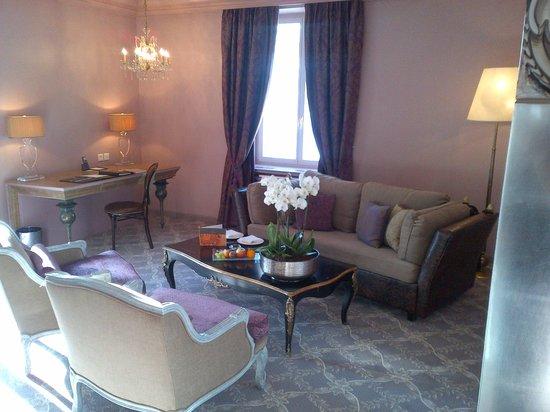 Carlton Hotel St. Moritz : Living Room