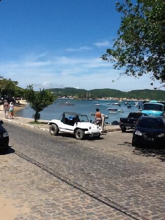 Pousada Baia Bonita: Blick aus dem Fruestuecksraum