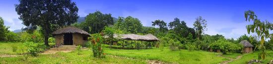 Национальный парк Горы Удзунгва, Танзания: Lozenge Reception and the camping area