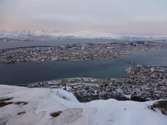 Enter Viking Hotel: Tromso, view from cable car station at the top