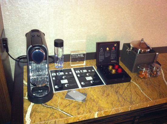 Hotel ICON: Nespresso machine