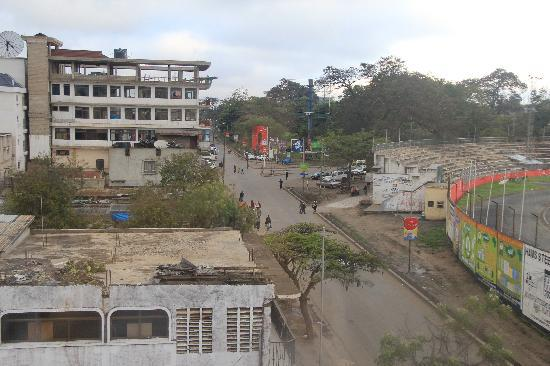 Arusha Crown Hotel: Corner room view