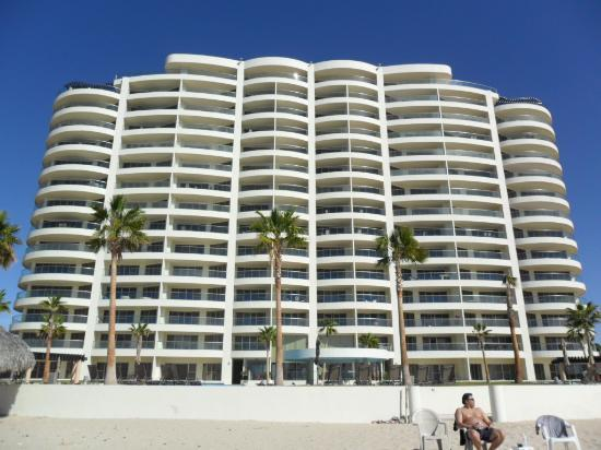 Condo-Hotel Playa Blanca: View from the ocean front