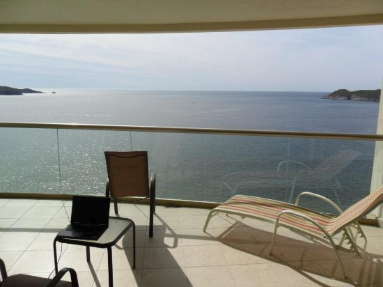 Condo-Hotel Playa Blanca: View from the balcony