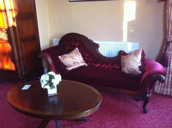 bedroom sofa - Picture of Old Rectory Hotel, Wem - TripAdvisor