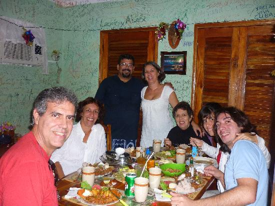 La bodeguita del centro: Agradeciendo al Chef por tan sabrosa comida