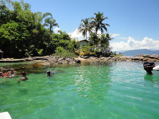 ilha grande, laguna azul