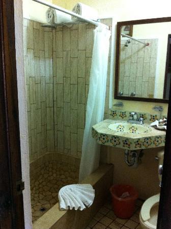 Playa Los Arcos Hotel Beach Resort & Spa : salla de bain chambre 333