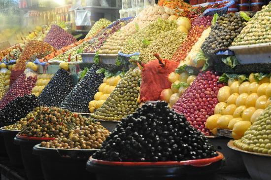 Médina de Meknès : Aceitunas de Meknes