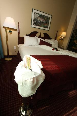 GrandStay Hotel & Suites Appleton-Fox River Mall: Romance
