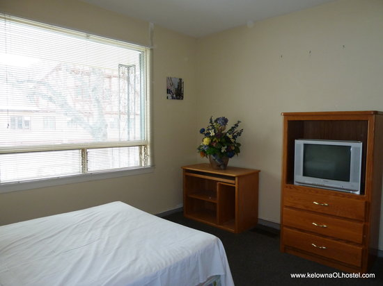 Kelowna Okanagan Lake Hostel : Double Room