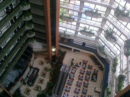 Embassy Suites by Hilton Valencia-Downtown : vista desde arriba