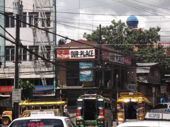 CebuView Tourist Inn : ourplace bar is right across the road