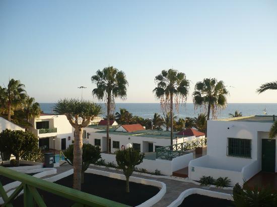 Rocas Blancas Apartments: Vista dal balcone