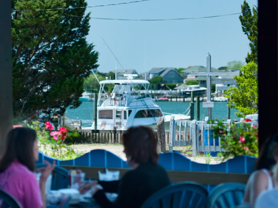 Wrightsville Beach, NC: Overlooking the harbor at Banks Channel