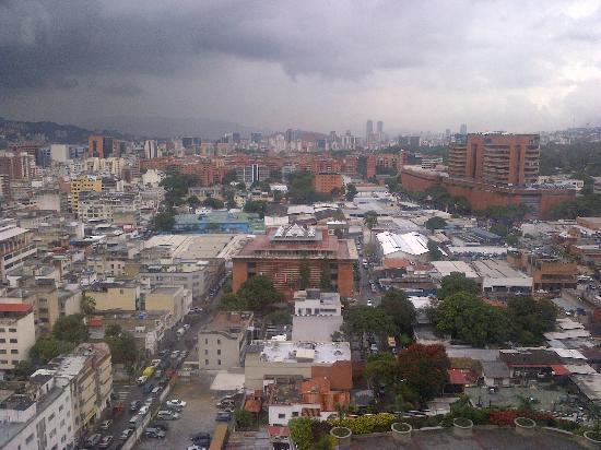 Renaissance Caracas La Castellana Hotel: vistas de la habitacion