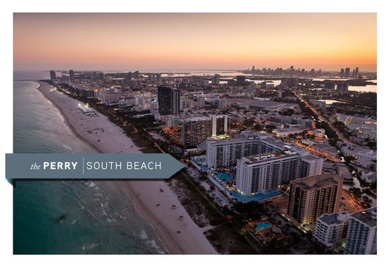 The Perry, South Beach: perry from the sky