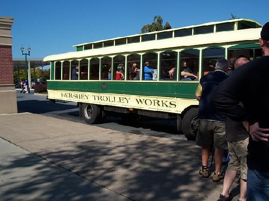 Hershey Trolley Works: trolley