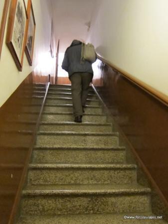 Bed & Breakfast Umberto 33: Escaleras, primer tramo