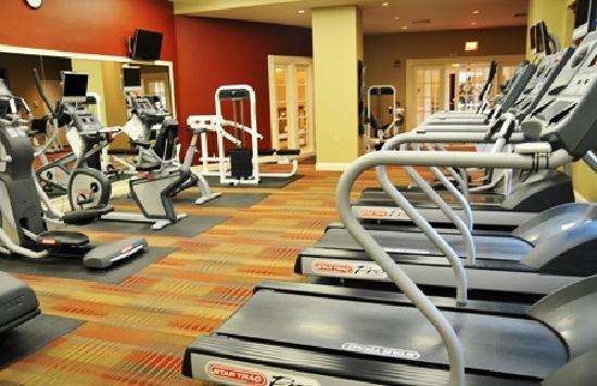 Bridgestreet Meridian Carlyle: Fitness center
